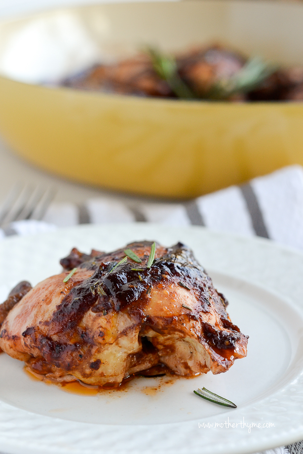 Bacon Wrapped BBQ Chicken Thighs   Mother Thyme