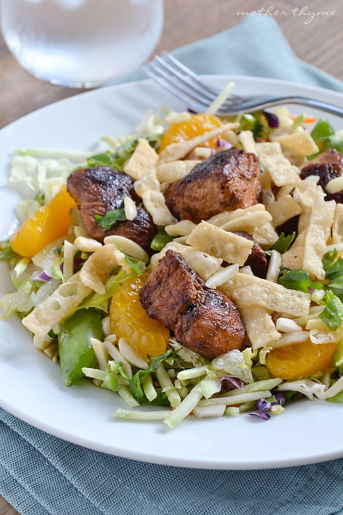 Asian Sesame Chopped Chicken Salad   Mother Thyme