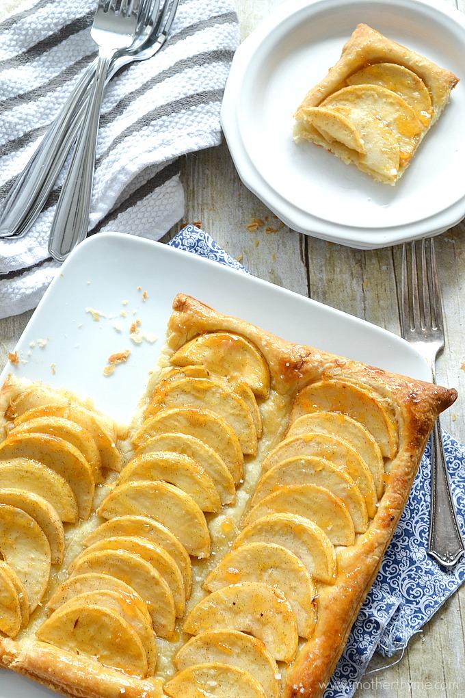 Apple Puff Pastry Tart