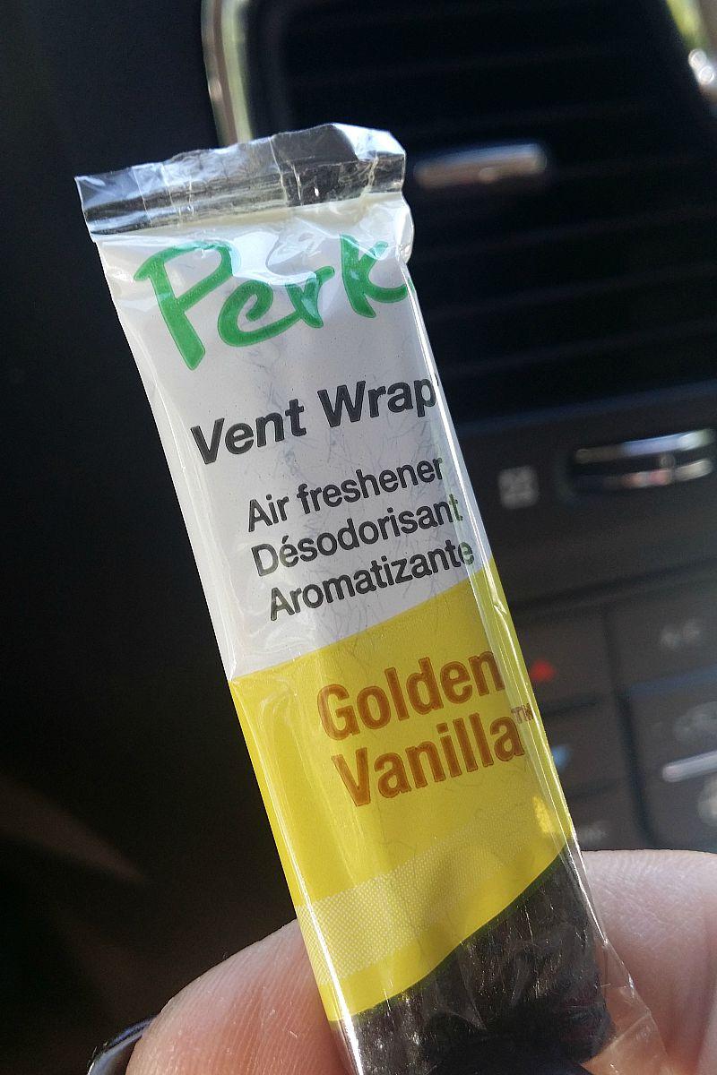Enjoy the Ride with PERK Vent Wraps #PERKFresh
