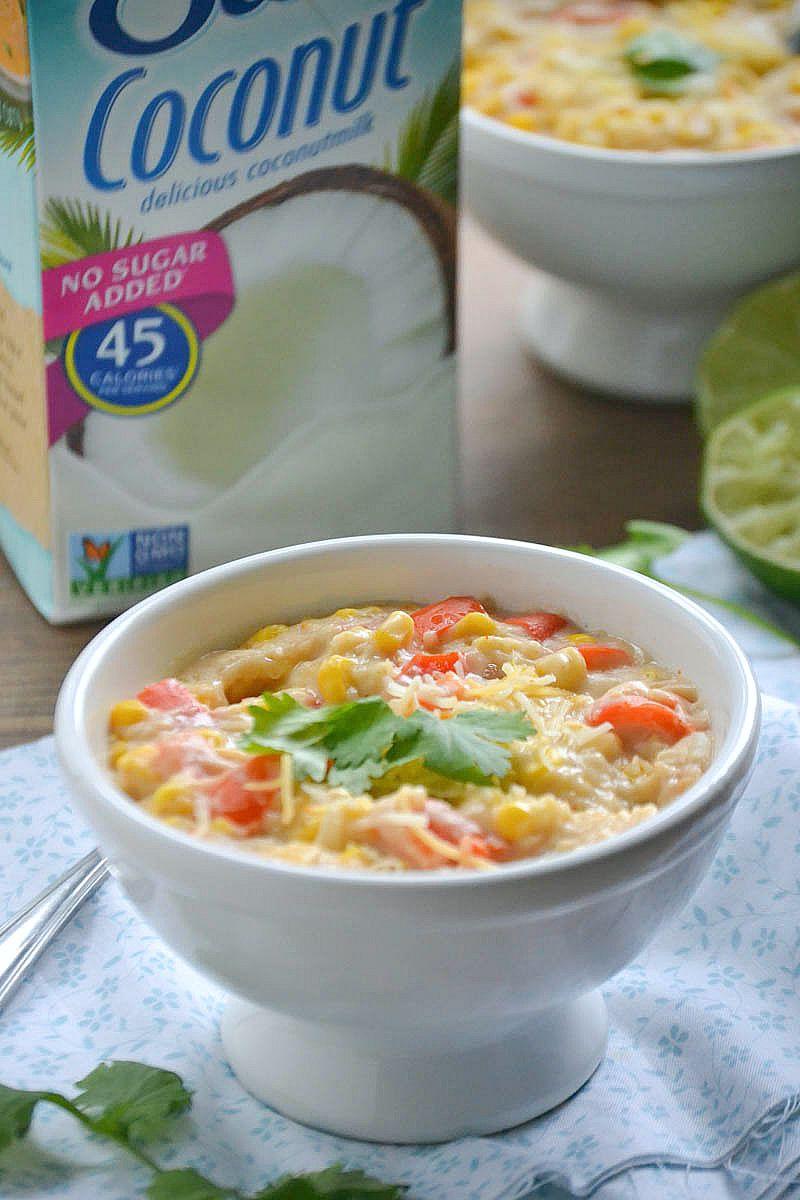 Dairy-Free Mexican Corn Chowder   www.motherthyme.com