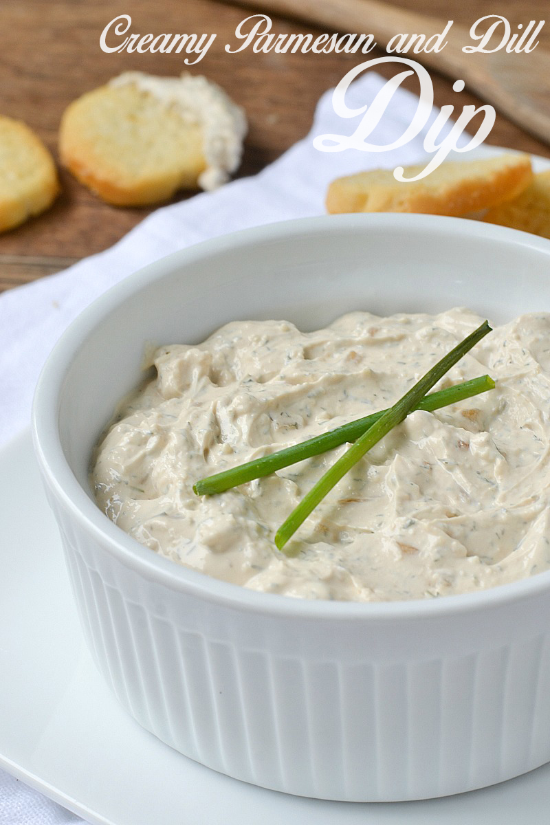 Creamy Parmesan and Dill Dip | www.motherthyme.com