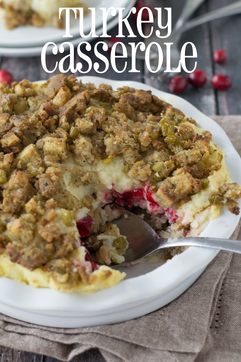 Turkey Casserole | www.motherthyme.com