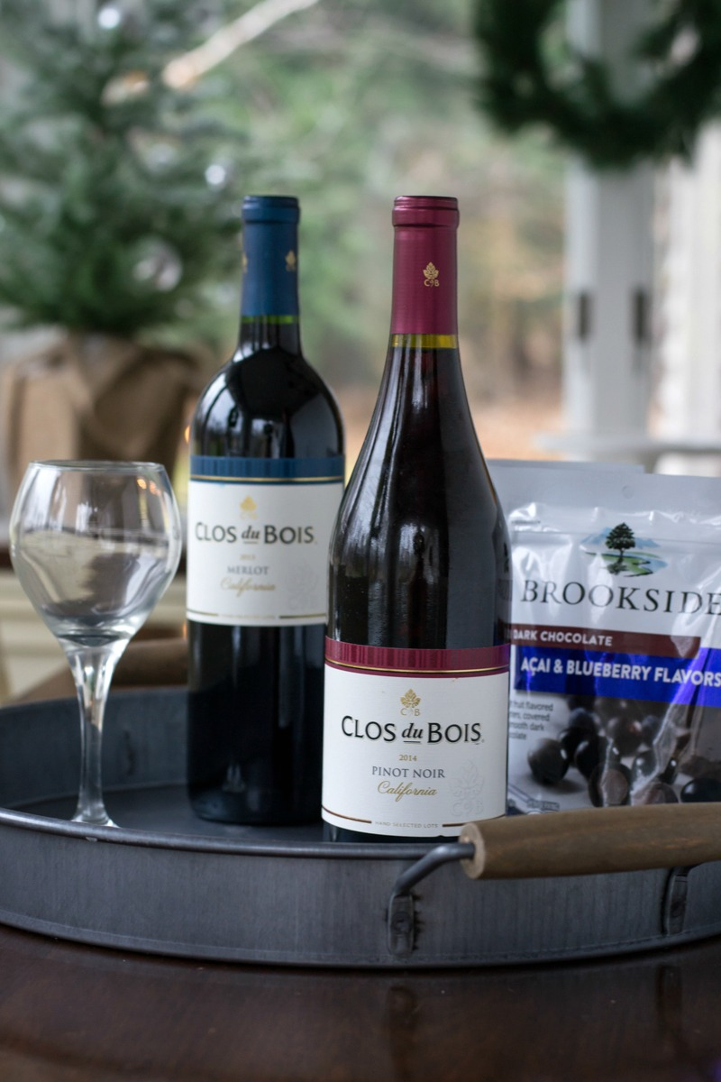 Holiday Entertaining with Clos du Bois and BROOKSIDE Chocolate