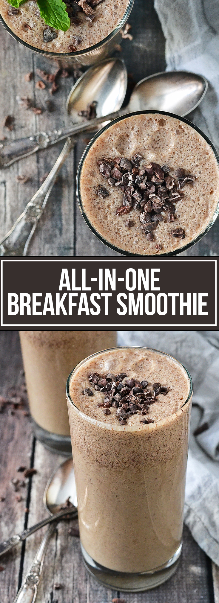 All In One Breakfast Smoothie From Valerie S Home Cooking Mother Thyme