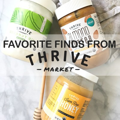 Favorite Finds From Thrive Market