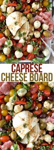 CAPRESE CHEESE BOARD