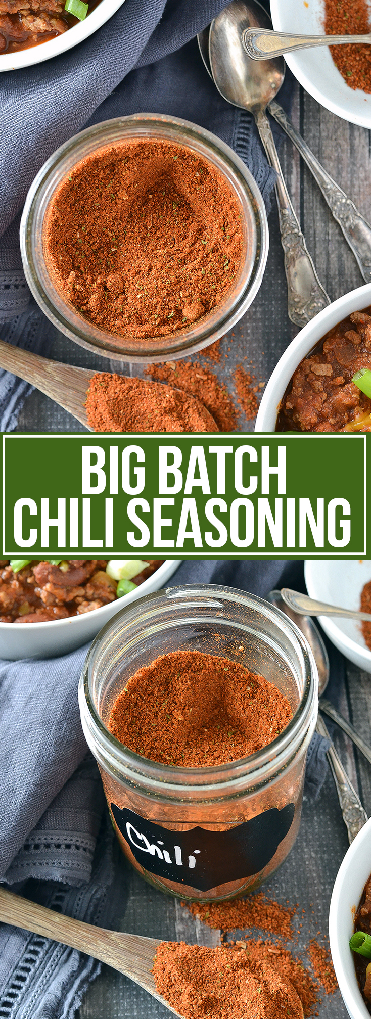 BIG BATCH HOMEMADE CHILI SEASONING
