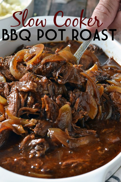 SLOW COOKED BBQ POT ROAST
