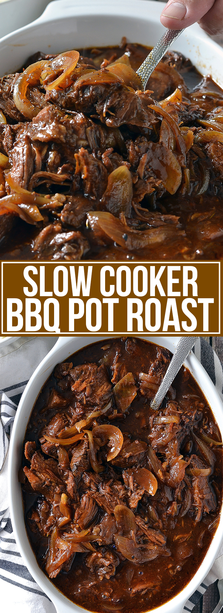 SLOW COOKER BBQ POT ROAST