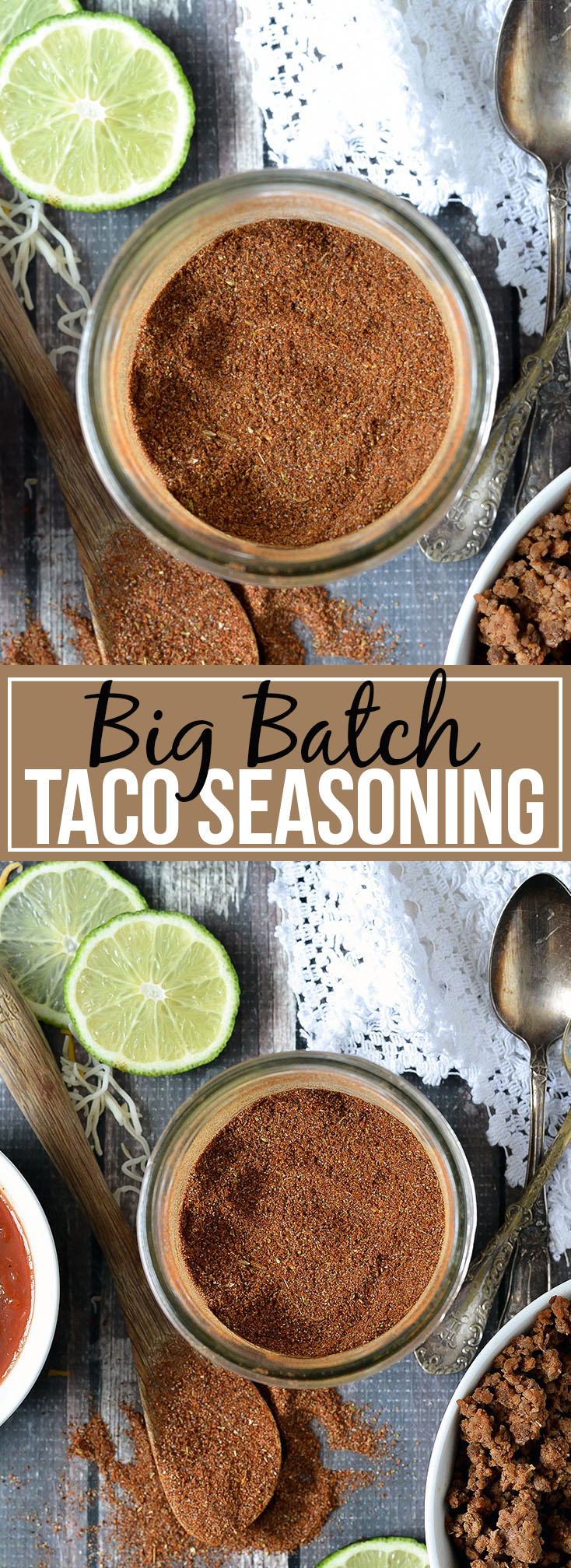 BIG BATCH HOMEMADE TACO SEASONING