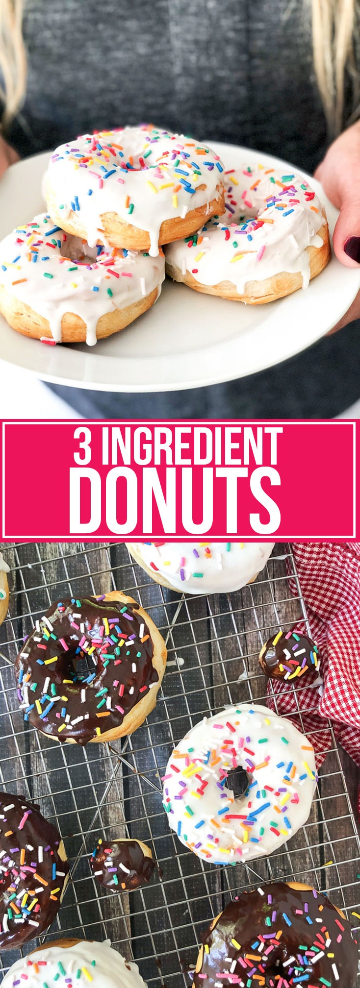 3 ingredient donuts