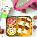 FRUIT AND WAFFLE KEBAB BREAKFAST BOX
