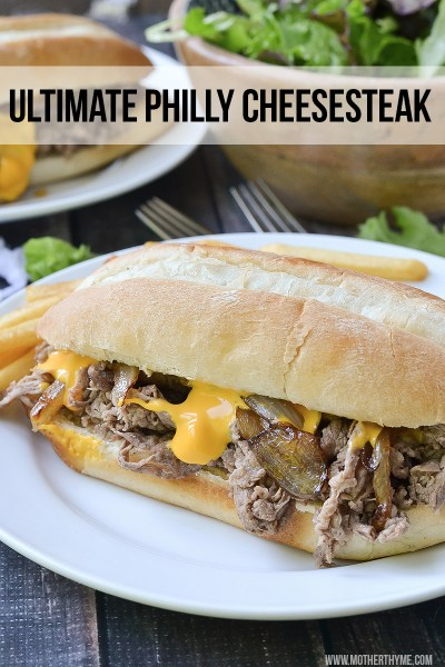 ULTIMATE PHILLY CHEESESTEAK