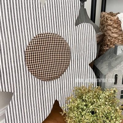 DIY Flower Door Hanger