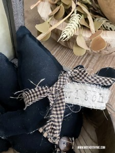 NO-SEW WITCH HAT BOWL FILLER