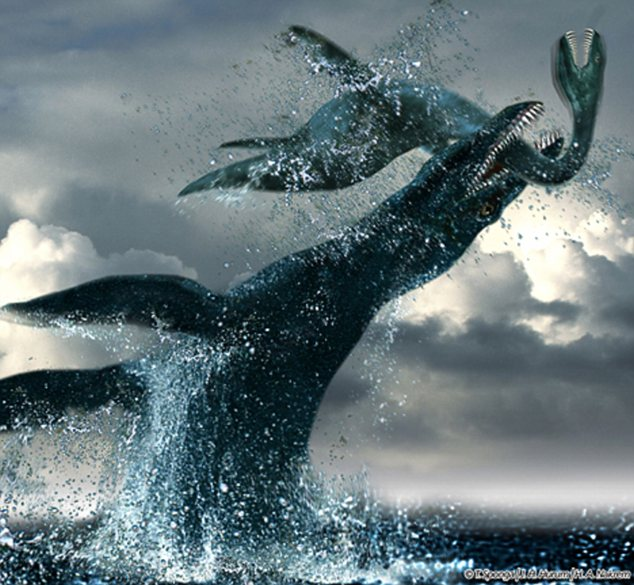 sea monster Colossal sea monster of Dorset that could have eaten T Rex for breakfast