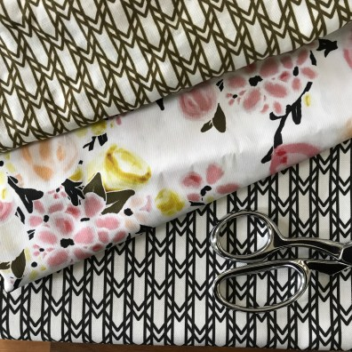 signature collection fabrics with scissors