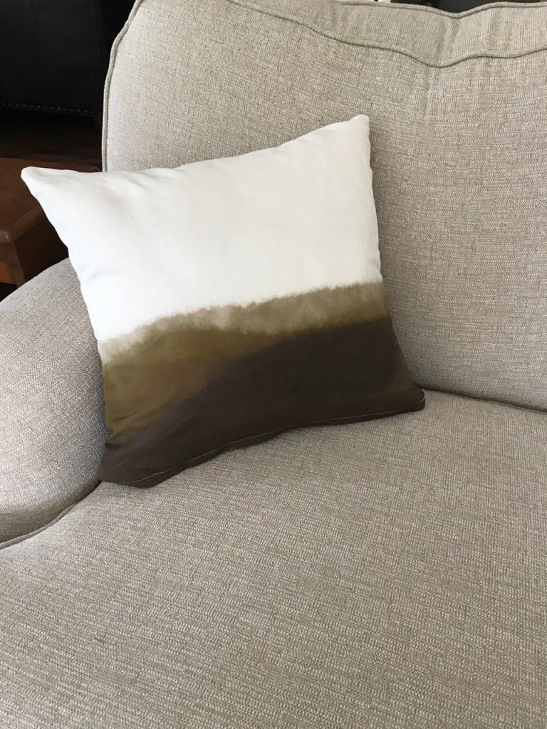 linen canvas pillow cover
