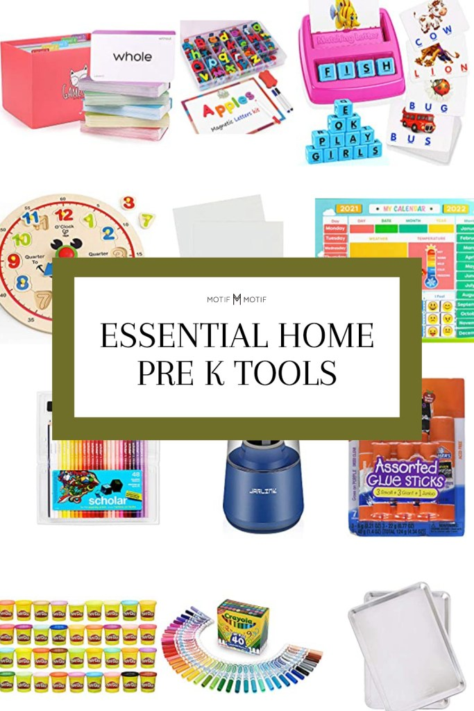 pin essential pre k tools