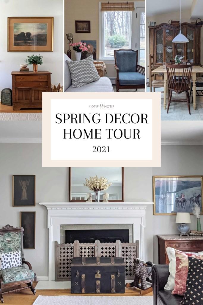 pin spring decor home tour 2021 motif motif