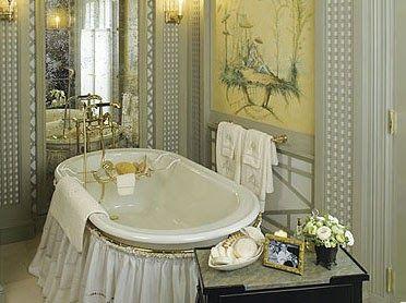 bunny williams trellis chinoiserie bathroom