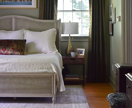 primary bedroom shot from entrance motif motif