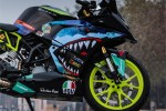 KTM RC 390 SHARK STICKER TASARIM MODELİ-2