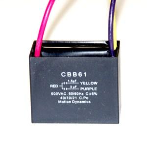 CBB61 15uf  3uf Capacitor Combination (3 Wire)