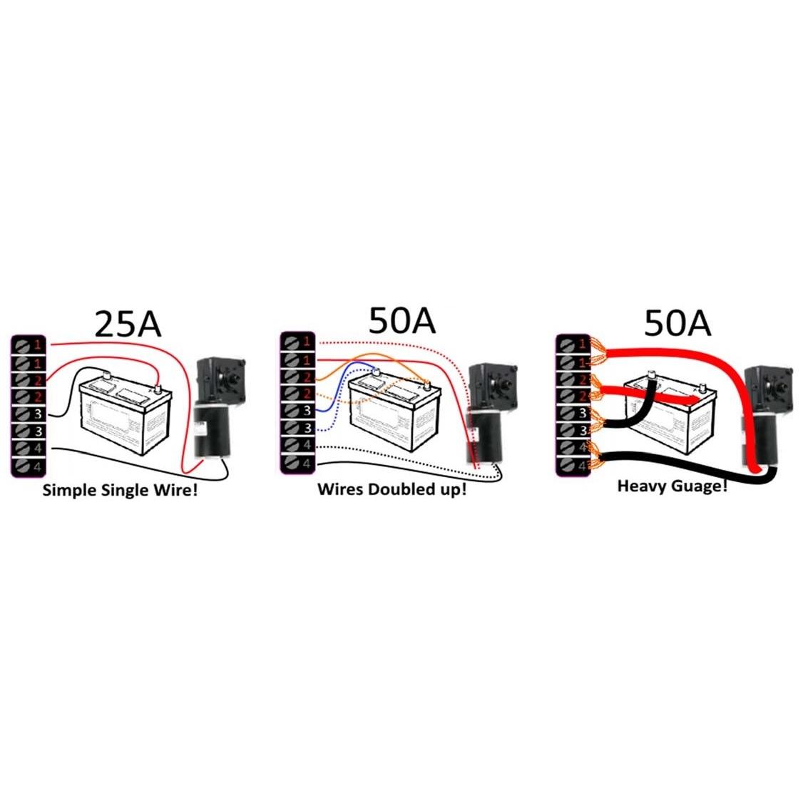 12v 36v Bi Directional Dc Speed Controller 50a