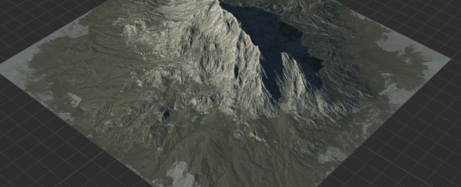 Mountain Height Map