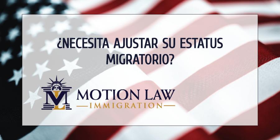 Equipo de Motion Law puede ayudar con su ajuste de estatus migratorio