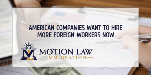 American companies plan to hire more workers from abroad