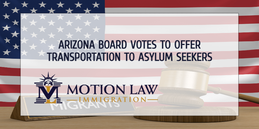 Pima County Board of Supervisors vote to transport asylum seekers