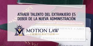 El rol de la administración de Biden para atraer talento del extranjero