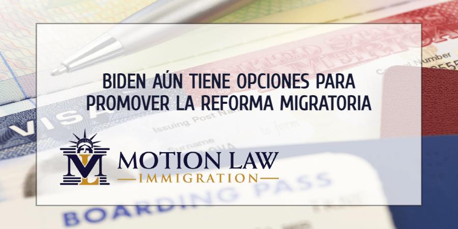 Demócratas aún pueden considerar otras opciones para la reforma migratoria