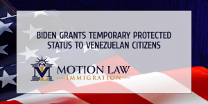 TPS for Venezuelans - Biden Awards Temporary Protected Status (TPS) to Venezuelans