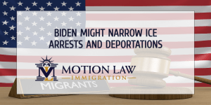 The Biden administration plans to curb arrests and deportations