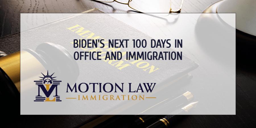 Biden's next 100 days leading the White House