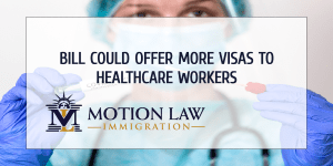 The US Senate proposes to give more visas to foreign health workers