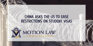 China asks Biden to lift restrictions on student visa process
