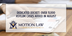 August: Biden added more than 11,000 asylum cases to his Dedicated Docket