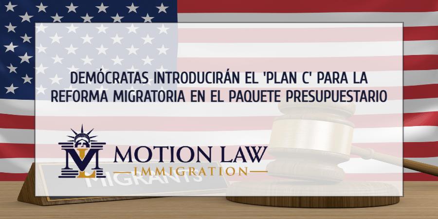 Demócratas proponen un 'Plan C' para promulgar la reforma migratoria