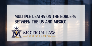 death of immigrants in borders from mexico and the us