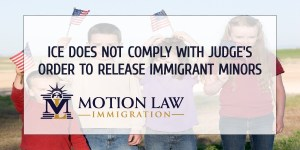 ICE receives a legal complaint because it has not released immigrant minors