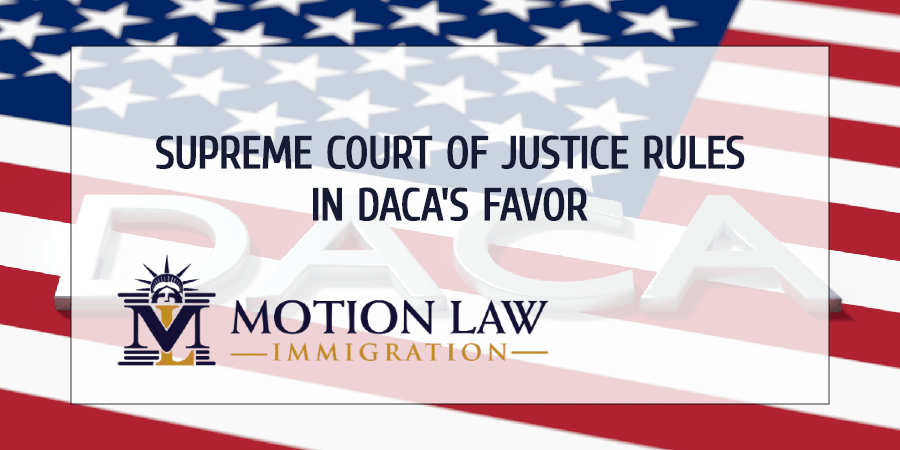 Supreme Court rules against Trump's ideal of removing DACA