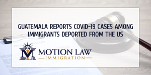 8 minors tested positive for COVID-19 in deportation flight from the US to Guatemala