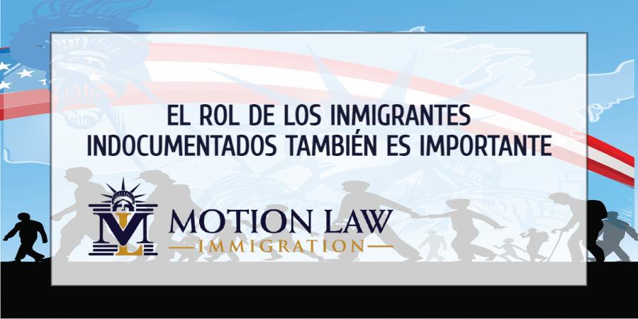 La contribución de los inmigrantes indocumentados también debe ser vista