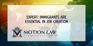 Expert comments on immigrants' role in job creation