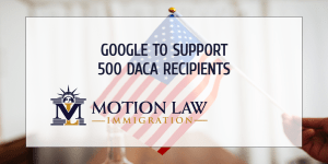 Google to fund employment applications for DACA recipients